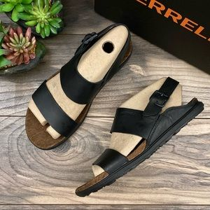 NIB Merrell Around Town Luxe Backstrap Sandals 8M
